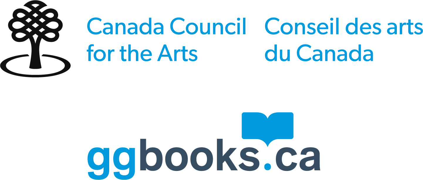 logo for ggbooks.ca blue and black type against a white background