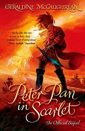 image of book cover of Peter Pan in Scarlet