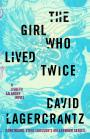 Book cover: The girl who lived twice