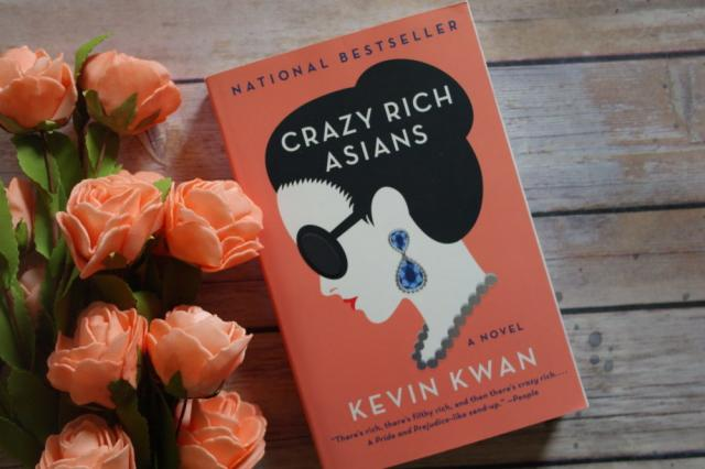 Book cover of Crazy rich Asians with tulips