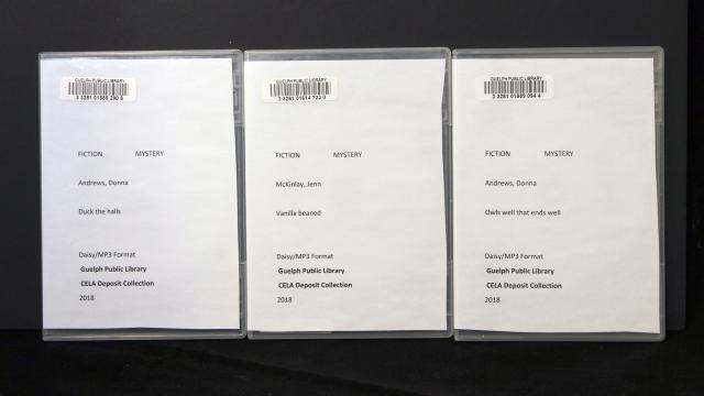 Disks with templates in DVD cases