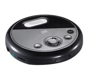A black CD player