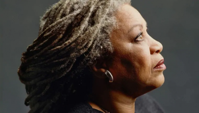 portrait of Toni Morrison