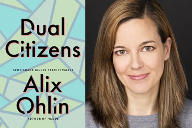 book cover for Dual Citizens by Alix Ohlin