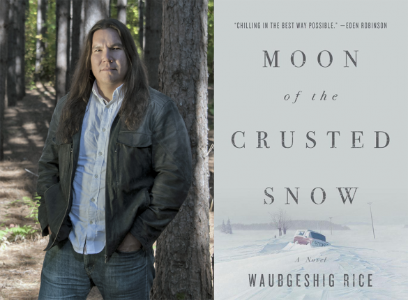 book cover Moon of the crusted snow