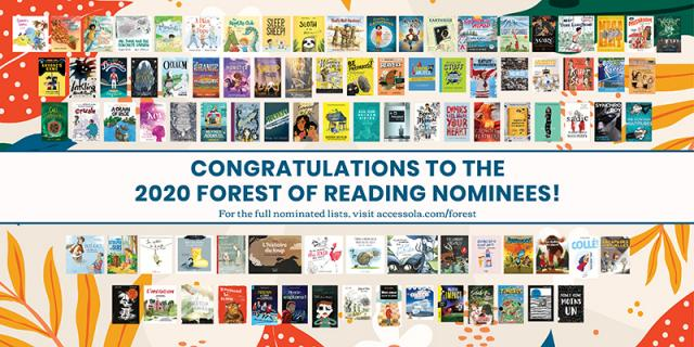 Forest of Reading nominees