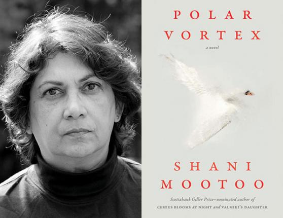 Photo of Shani Mootoo and Polar vortex book cover