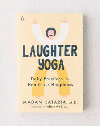 Book cover of Laughter yoga